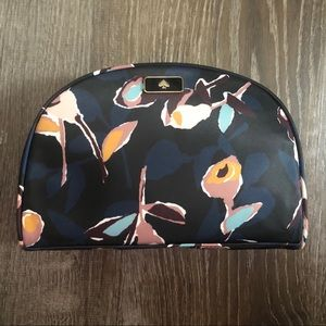 🌺 NWT kate spade Navy Floral Cosmetic Bag 💐